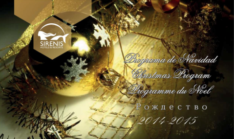 Sirenis Punta Cana Xmas & New Years Program